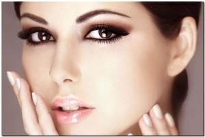 Создаем естественный макияж для карих глаз